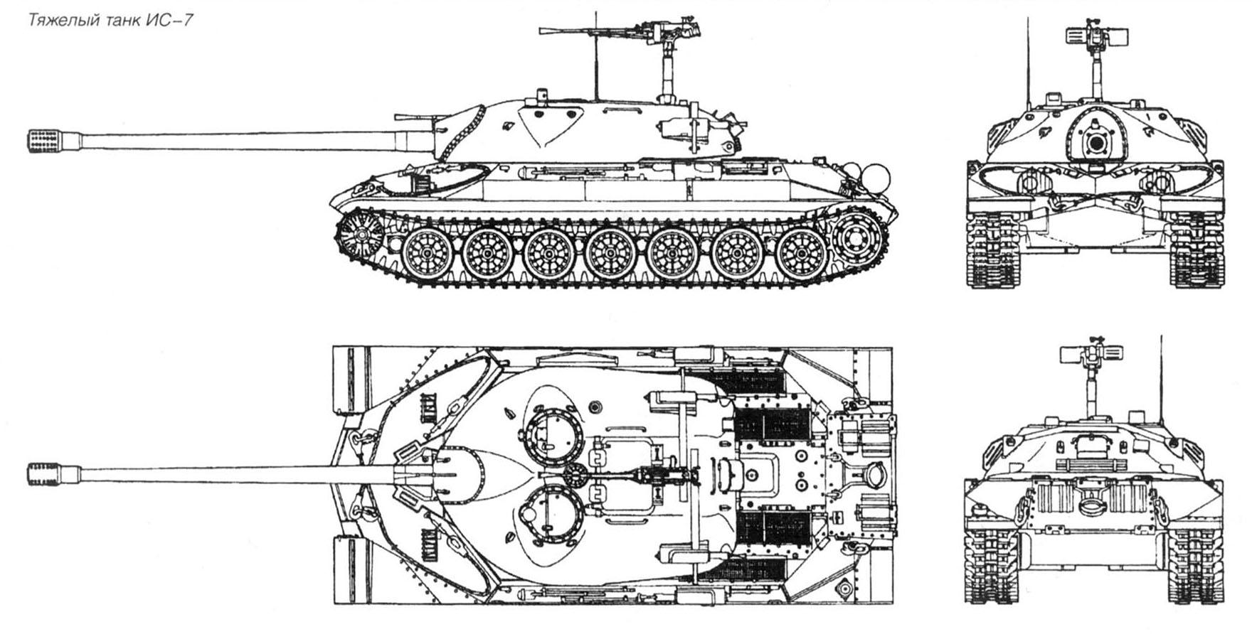 Чертежи танков