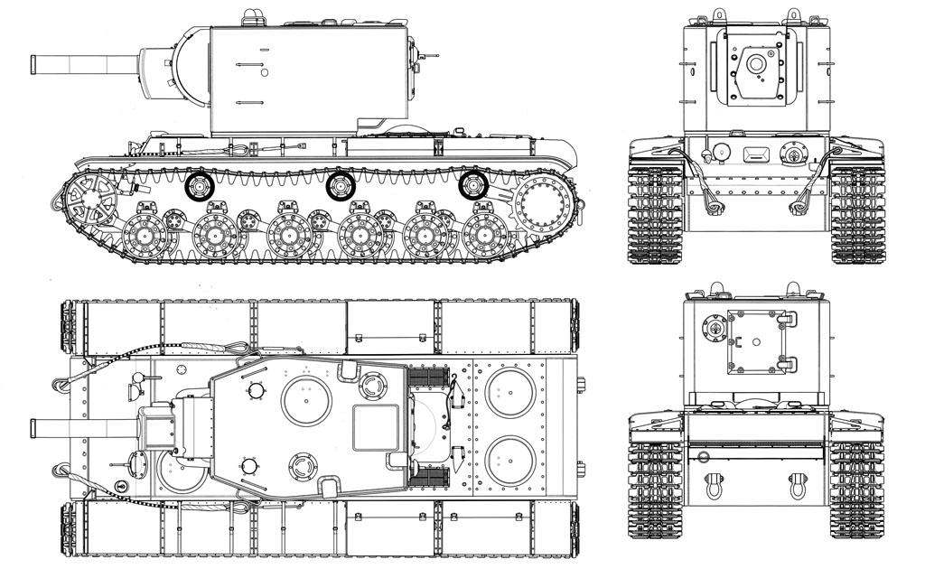 Танк КВ-2 обр. 1940 г.