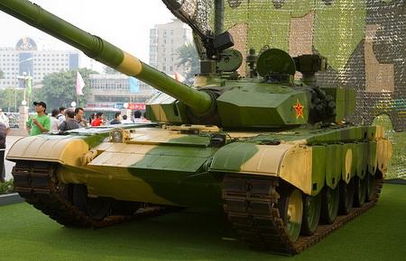 Китайский основной боевой танк ZTZ99 (Тип 99)