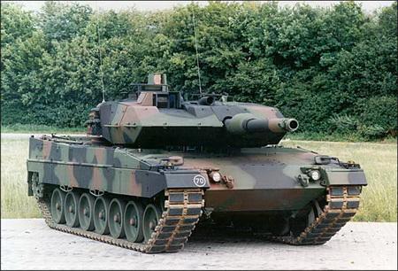 Германский основной боевой танк Leopard 2A5