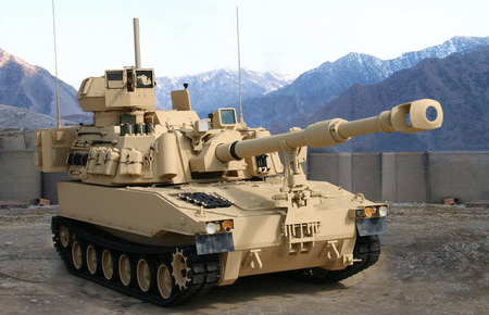 Самоходная гаубица M109A6 Paladin