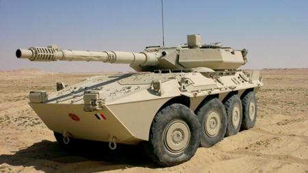 Колесный танк Кентавр