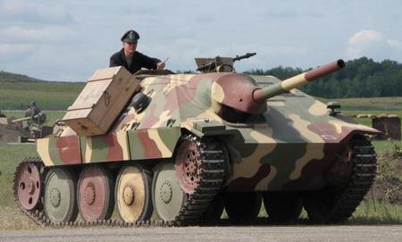 Истребитель танков хетцер hetzer