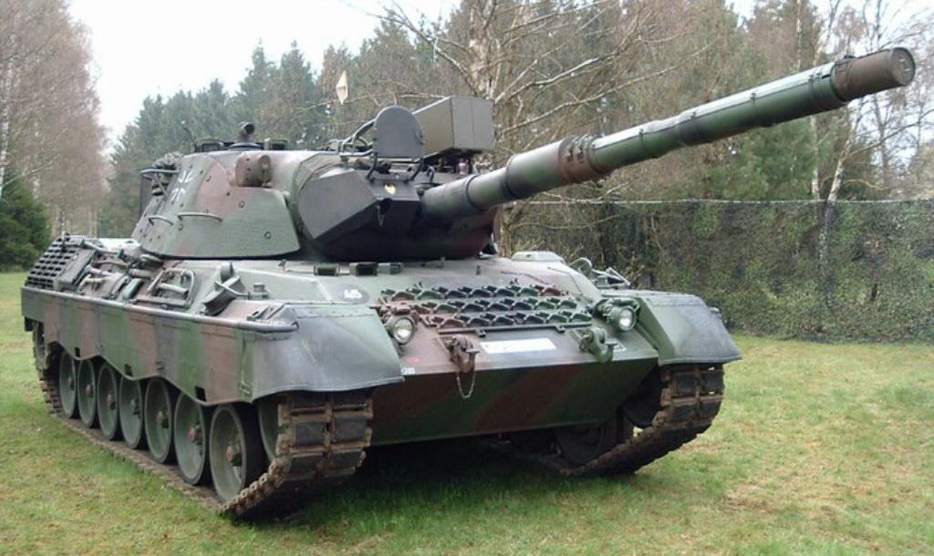Фотография основного боевого танка