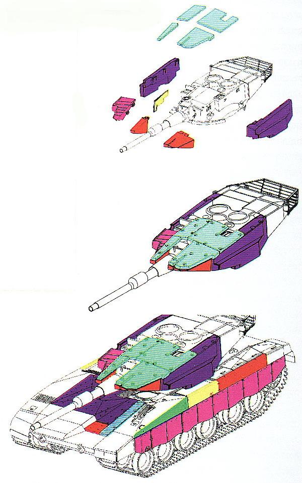Схема размещения модульной