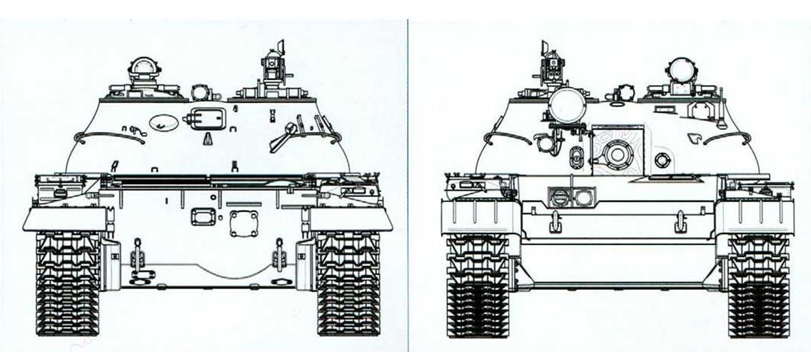 чертежи танка Т-62